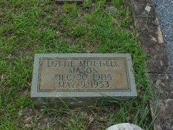 Lottie <i>Mitchell</i> Mason