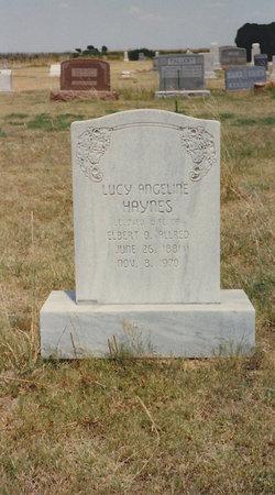 Lucy Angeline <i>Haynes</i> Allred