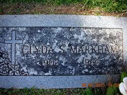 Clyda <i>Sanders</i> Markham