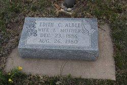 Edith Caroline <i>Cedergren</i> Albee