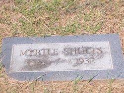 Myrtle <i>Douglass</i> Shults