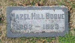 Hazel <i>Hill</i> Bogue
