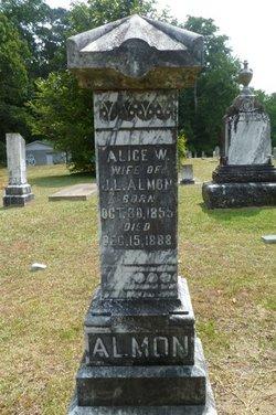 Alice W. <i>Cavender</i> Almon