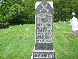 Gertie M. Brinker