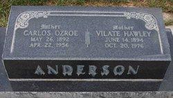 Carlos Ozroe Anderson