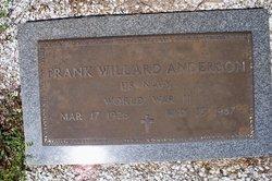 Frank Willard Anderson