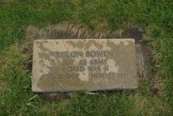 Rulon Bowen