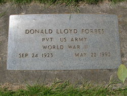Donald Lloyd Forbes