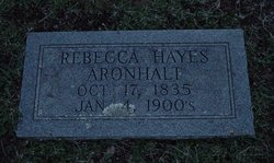 Rebecca <i>Hayes</i> Aronhalt