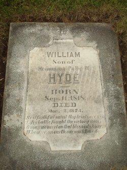 Sgt William Hyde
