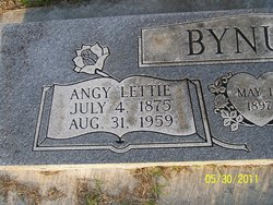 Angelica Lettie Angy <i>Dane</i> Bynum