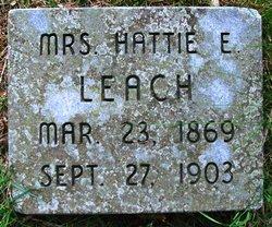 Hattie Edith <i>Farnum</i> Leach