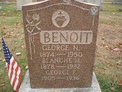 Blanche Marion <i>Guyette</i> Benoit