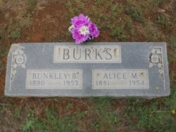 Alice <i>Martin</i> Burks