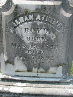 Alban <i>Atkins</i> Boyd