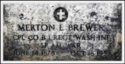 Merton Elmer Brewer