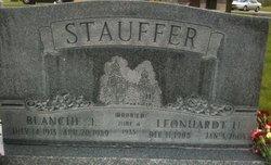 Blanche Laverne <i>Jensen</i> Stauffer