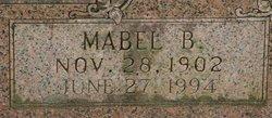 Mabel B Adams