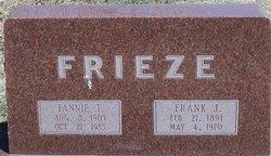 Fannie T <i>Slagle</i> Frieze