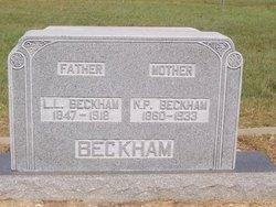 Nannie Pruitt <i>Gallaway</i> Beckham