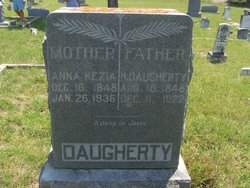 Anna Kezziah <i>McDaniel</i> Daugherty