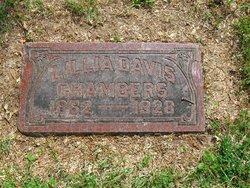Lillia Ann <i>Davis</i> Chambers