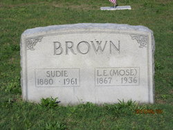 Sudie M <i>Edwards</i> Brown