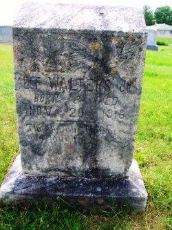 Elbert Fletcher Walters, Jr