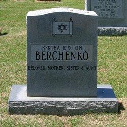Bertha <i>Epstein</i> Berchenko