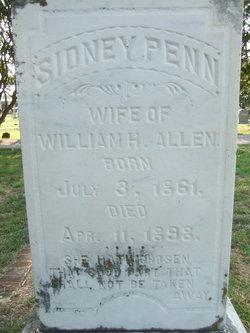 Sidney <i>Penn</i> Allen