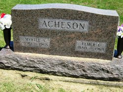 Myrtle A <i>Fortune</i> Acheson