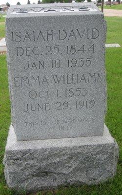 Emma Loomis <i>Williams</i> Evans