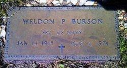 Weldon Patrick Burson