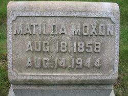 Matilda M Tillie <i>Mitchell</i> Moxon