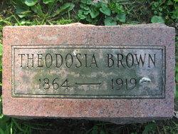 Theodosia Dolores Dosia <i>Patty</i> Brown