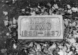 Hilda Amanda <i>Holmberg</i> Lewis