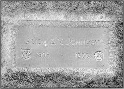 Alida Elvina Victoria <i>Holmberg</i> Johnson