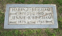 Jennie B <i>Brown</i> Brigham