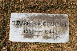 Elizabeth Jane Lizzie <i>Wynn</i> Chandler