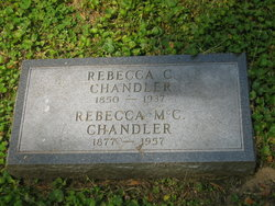 Rebecca <i>Coltman</i> Chandler