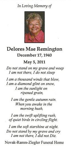 Delores Mae Gummy <i>Fang</i> Remington