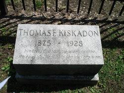 Thomas F Kiskadon