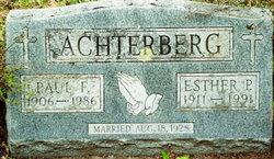 Esther Pauline <i>Rice</i> Achterberg