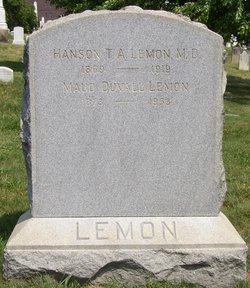Maud <i>Duvall</i> Lemon