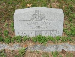 Albert Leroy Cloninger