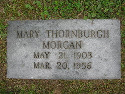 Mary <i>Thornburgh</i> Morgan