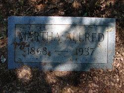 Martha Ann <i>Hammons</i> Allred