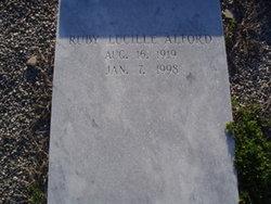 Ruby Lucille <i>Fuller</i> Alford