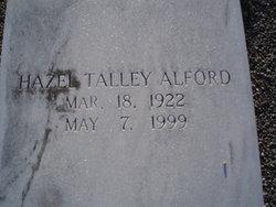 Hazel <i>Talley</i> Alford