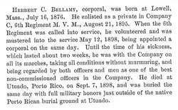 Corp Herbert C. Bellamy